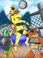 The Koopa Beach Volleyball by Arbok-X