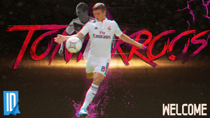 Toni Kroos - Wallpaper by IndividualDesign
