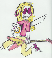 layla is a ROCK STAR by captaindee