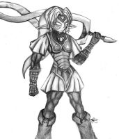Oni Link by Foxtail-89