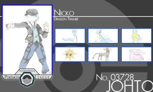 Trainer - Nicko by Pokemon-League