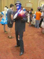 Animfest '12 - Blue Spy by TexConChaser