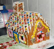Gingerbread House by MayEbony