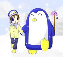 My Chubby Antarctic Friend by sworndestiny