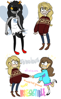 i declare gravity falls style... by Darbyqtip