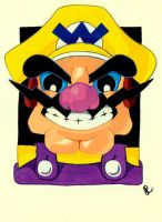 Wario by Squaracters