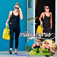 +Miley CYRUS {candid 001} by Mafufis21
