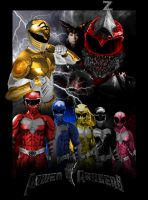Power Rangers Movie Poster 3 by GeekTruth64