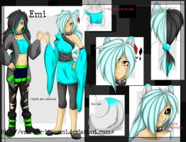 Emi Ref ~ 2014/2015 by Emi-the-InuGami
