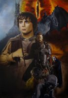 The Lord of the Rings Poster by BlueCat-Amber