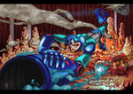 Megaman by TaraGraphic