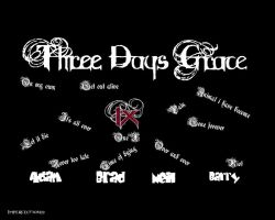 Three Days Grace--One-X by Imperfection22