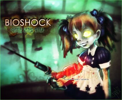 BioShock: Little Sister Jynx by Jynxed-Art