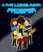 Live Long and Prosper by Ryujisama