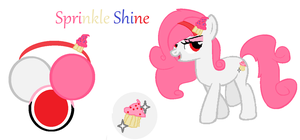 Sprinkle Shine Reference Sheet by Tides-of-Indigo