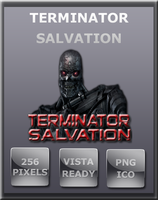 Terminator Salvation Icon by Dirtdawg90