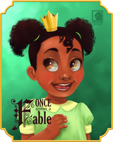 ONCE UPON A FABLE: Tiana by BASTAFUNK