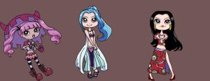 Three Princesses by Arilostimostia