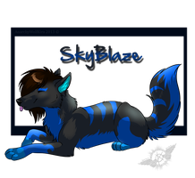 GA: SkyBlaze -With Video Link- by AnarchyWolfKira