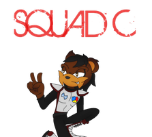 Squad C's Second in Command: David the Bear by IAmRedStar