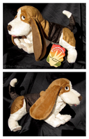 Folkmanis - Basset Hound by The-Toy-Chest
