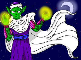 Piccolo for my Dragon Ball Z Group by DominotheFembot