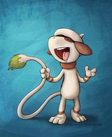 Smeargle by ZhBU