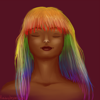 Color me the Rainbow by Rainydaysmiles