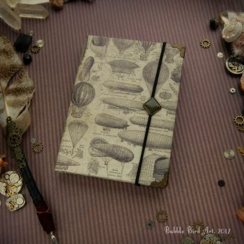 Mechanical dreams - Steampunk notebook by IkushIkush