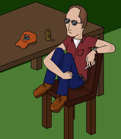 Dale Gribble by happy-kittens