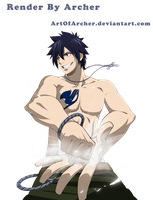 Gray Fullbuster Render by ArtOfArcher