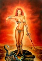 Red Sonja by Chrisroma