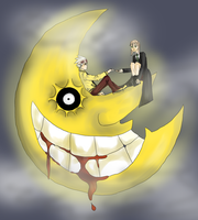 Collab::Soul Eater Moon by Neon-Fizz