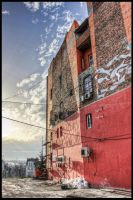 Belgrade.. red building by mixts