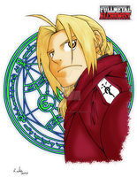 No turning back-Edward Elric by Randazzle100