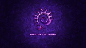Starcraft 2 : Heart of the Swarm | Zerg Wallpaper by InterventX