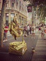 living statues by MarinaDW