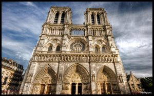 Paris  - Notre Dame WP by superjuju29