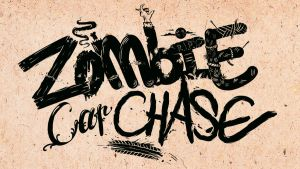 Zombie car chase by Skeone