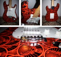 Jagermeister custom guitar by rxwaz