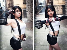 Tifa In The Slums Set by miss-gidget