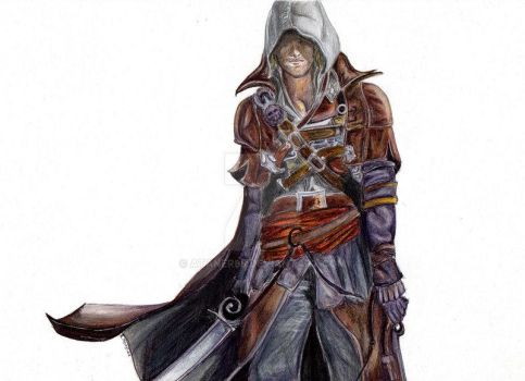 Asssin's Creed Edward Kenway by Ataner98
