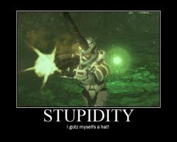 Stupidity by ODST-Training