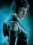 Quorra of Tron Legacy by Catluckey