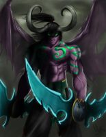 Illidan by mykmykmyk