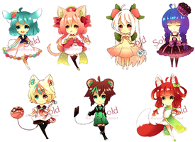 DessertKemonomimi Adoptables Closed Thank chu all! by Maruuki