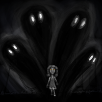 Darkness Shifts the Playground by saaio