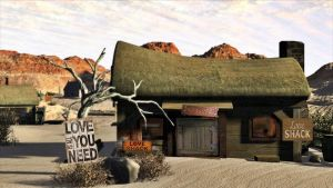 Desert Love Shack by AzDude