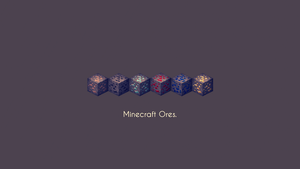 Minecraft Ores (Old) by Apexx-iPredator