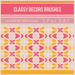 [For SAI] Classy Decor Brushes by ASlovesLisa